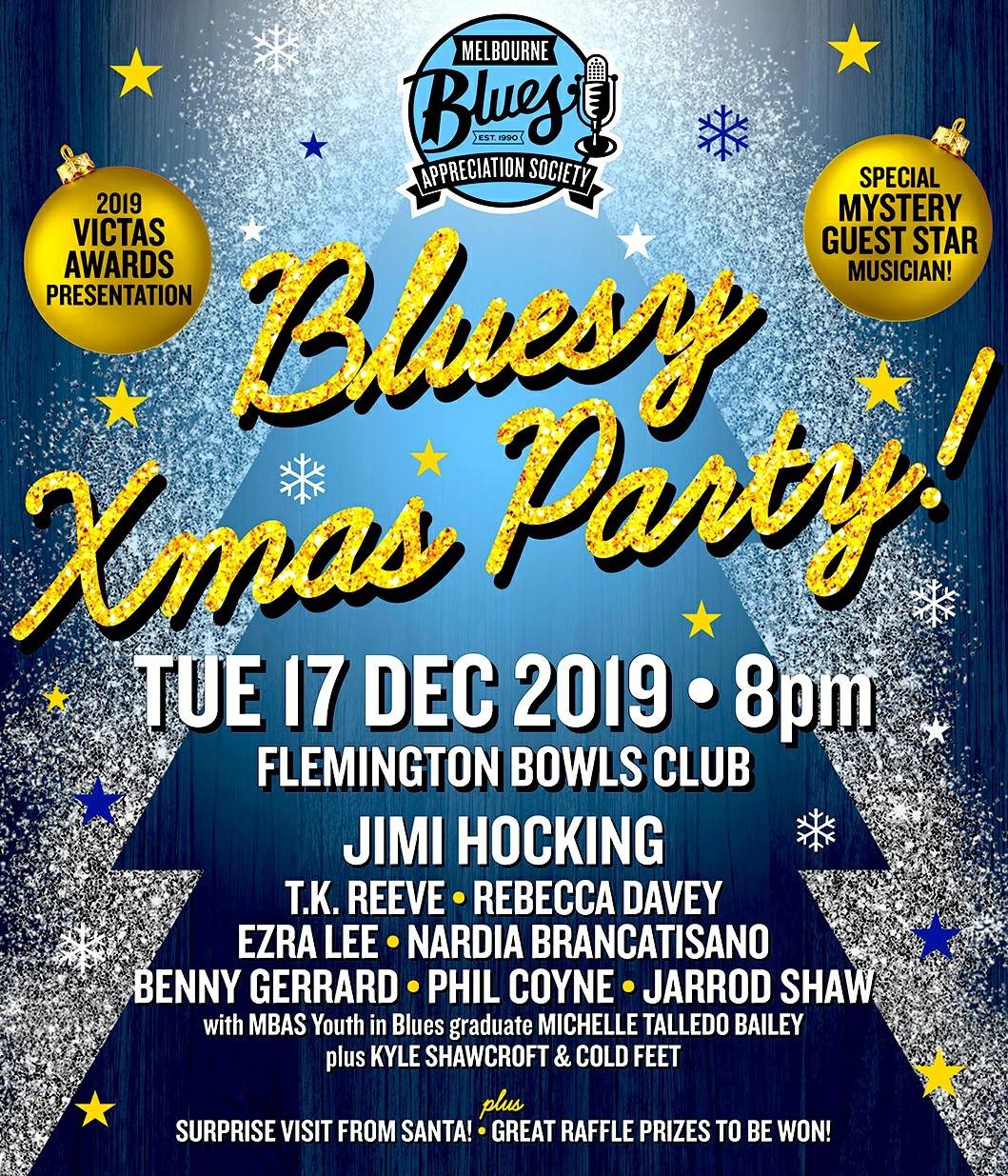 MBAS BLUESY XMAS PARTY 2019