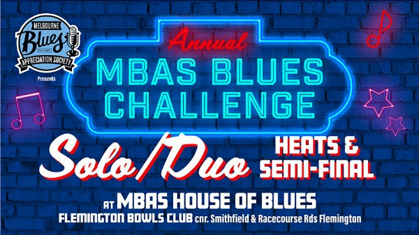 MBAS Blues Challenge Solo/Duo
