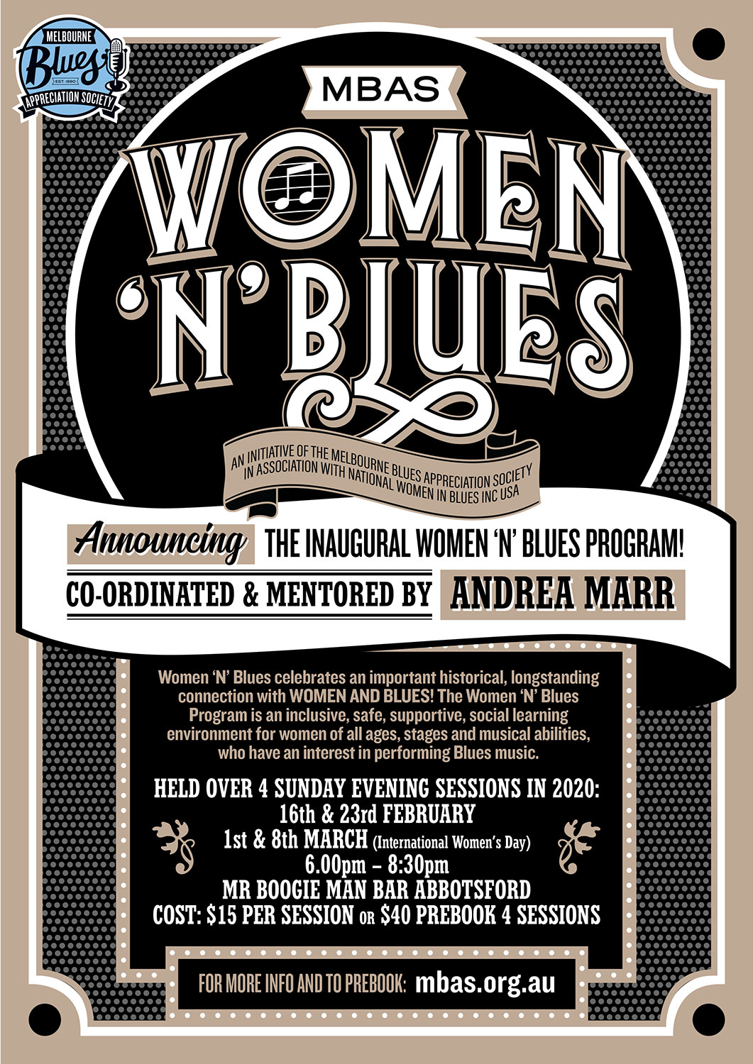 Women 'N' Blues Poster